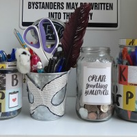 8 DIY Mason Jars for Readers & Writers